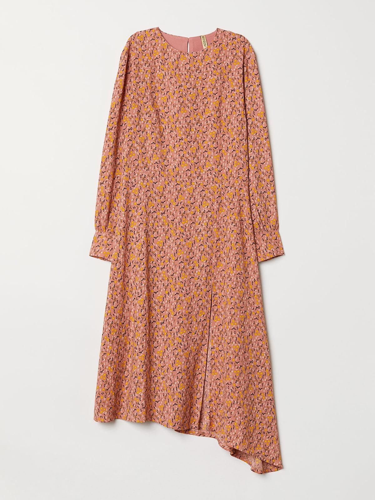 Платье в цветочный принт | 5046570