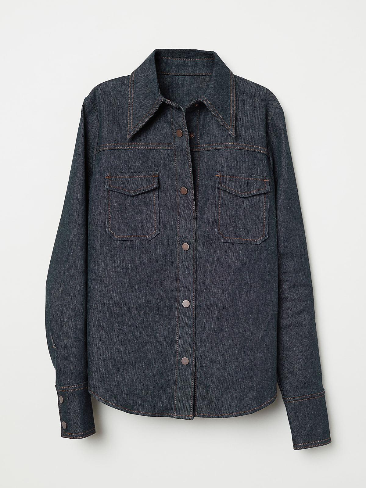 Рубашка синяя | 5046974