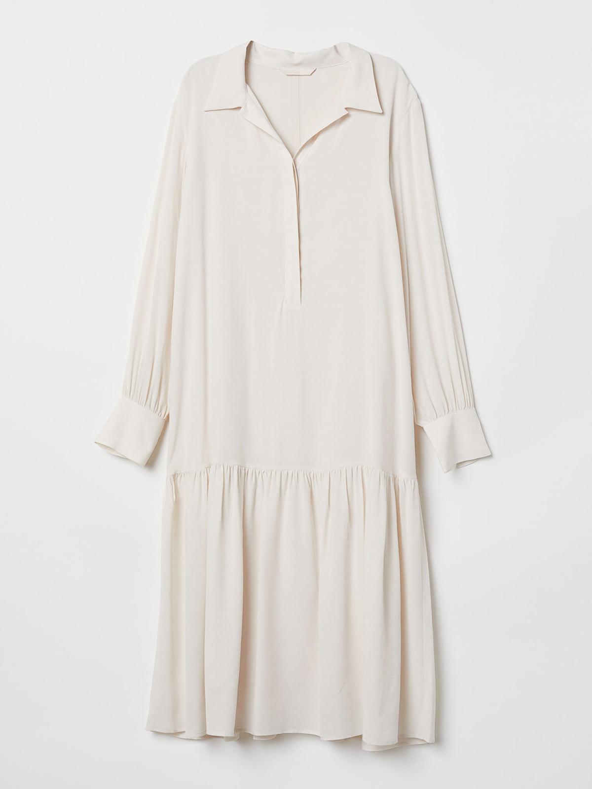 Платье бежевое | 5046984