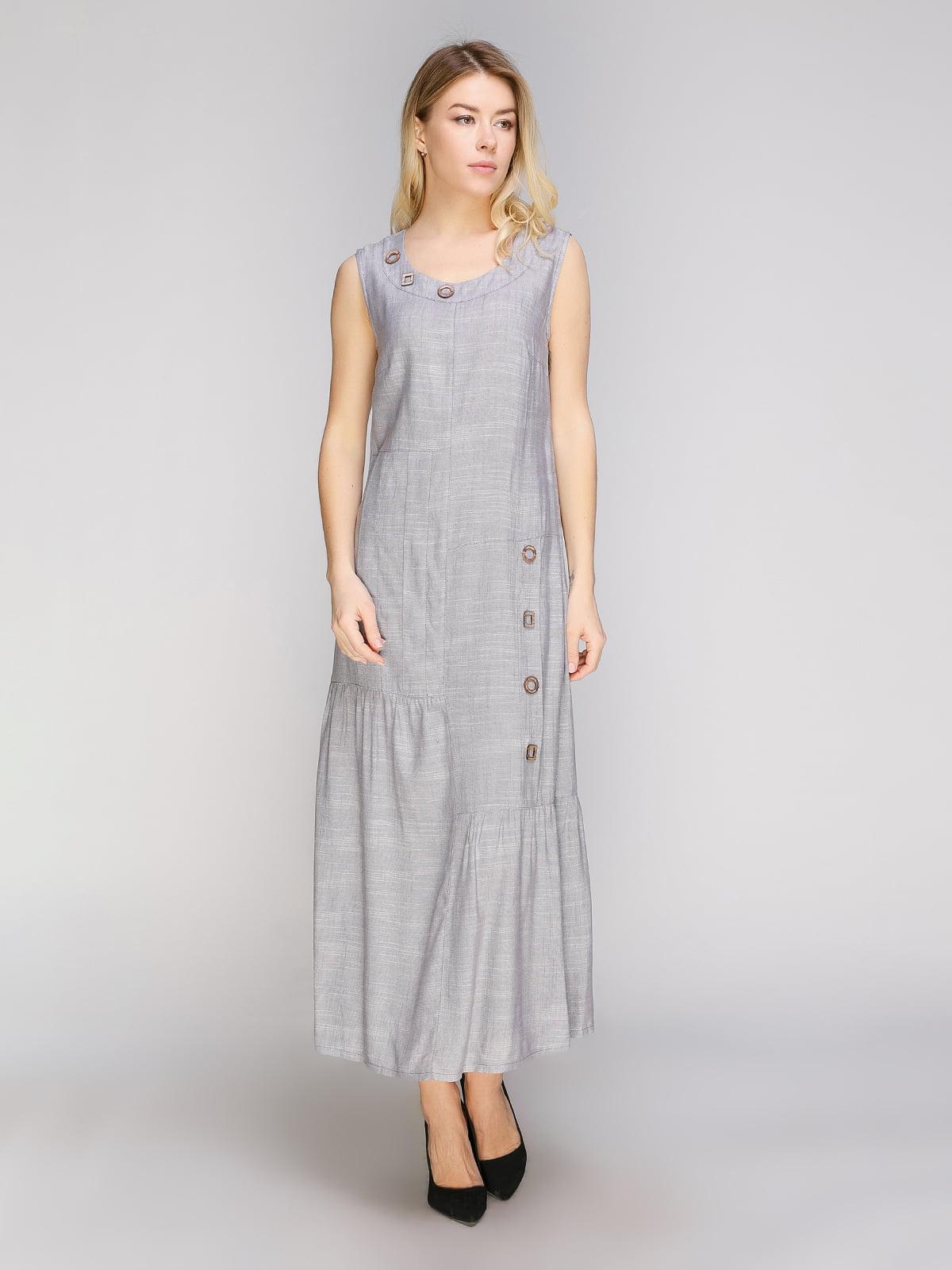 Платье серое | 5038983