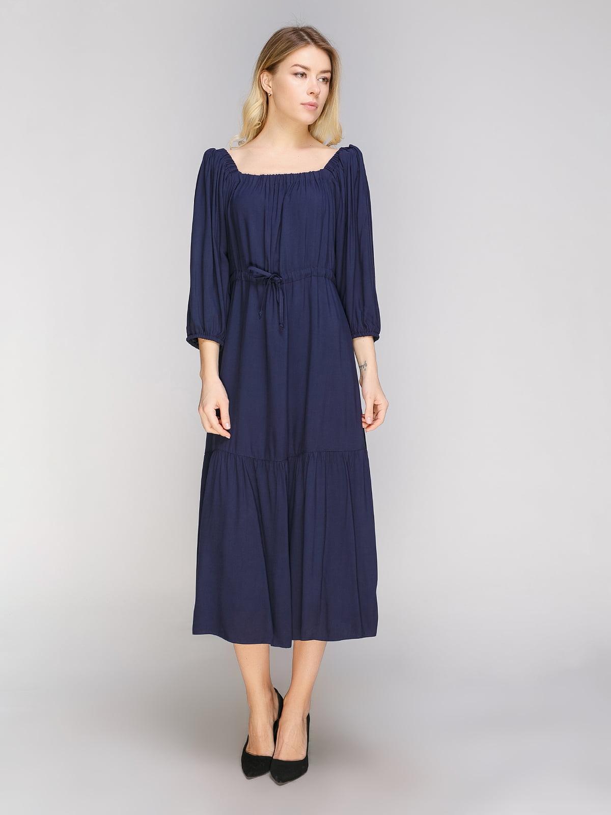 Сукня темно-синя | 5038977