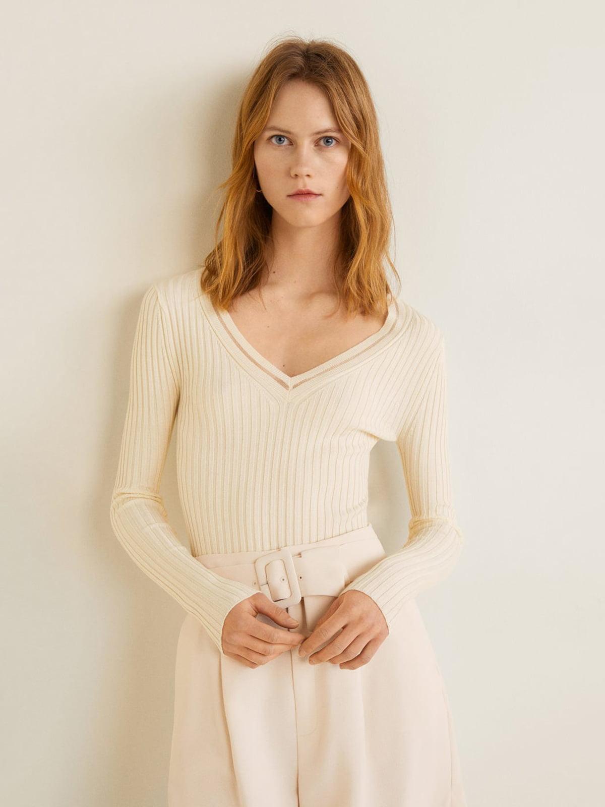 Пуловер молочного кольору | 4885571
