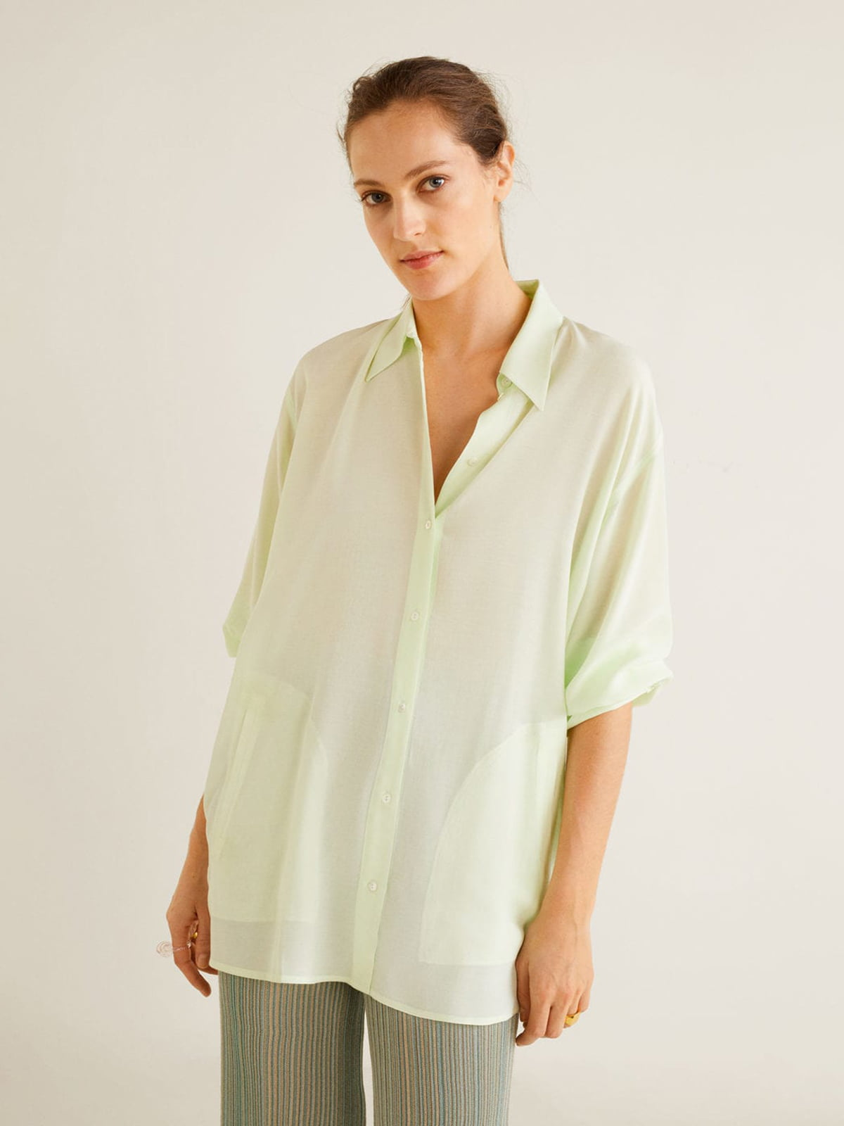 Блуза салатова | 5027410