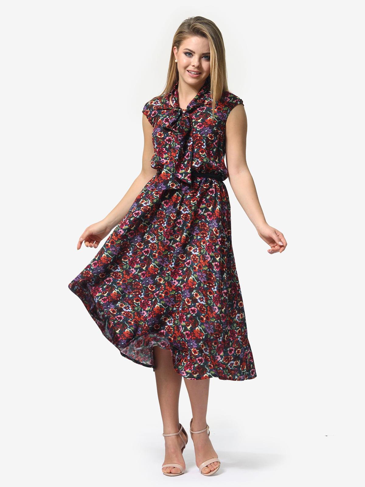 Сукня в квітковий принт | 5061740