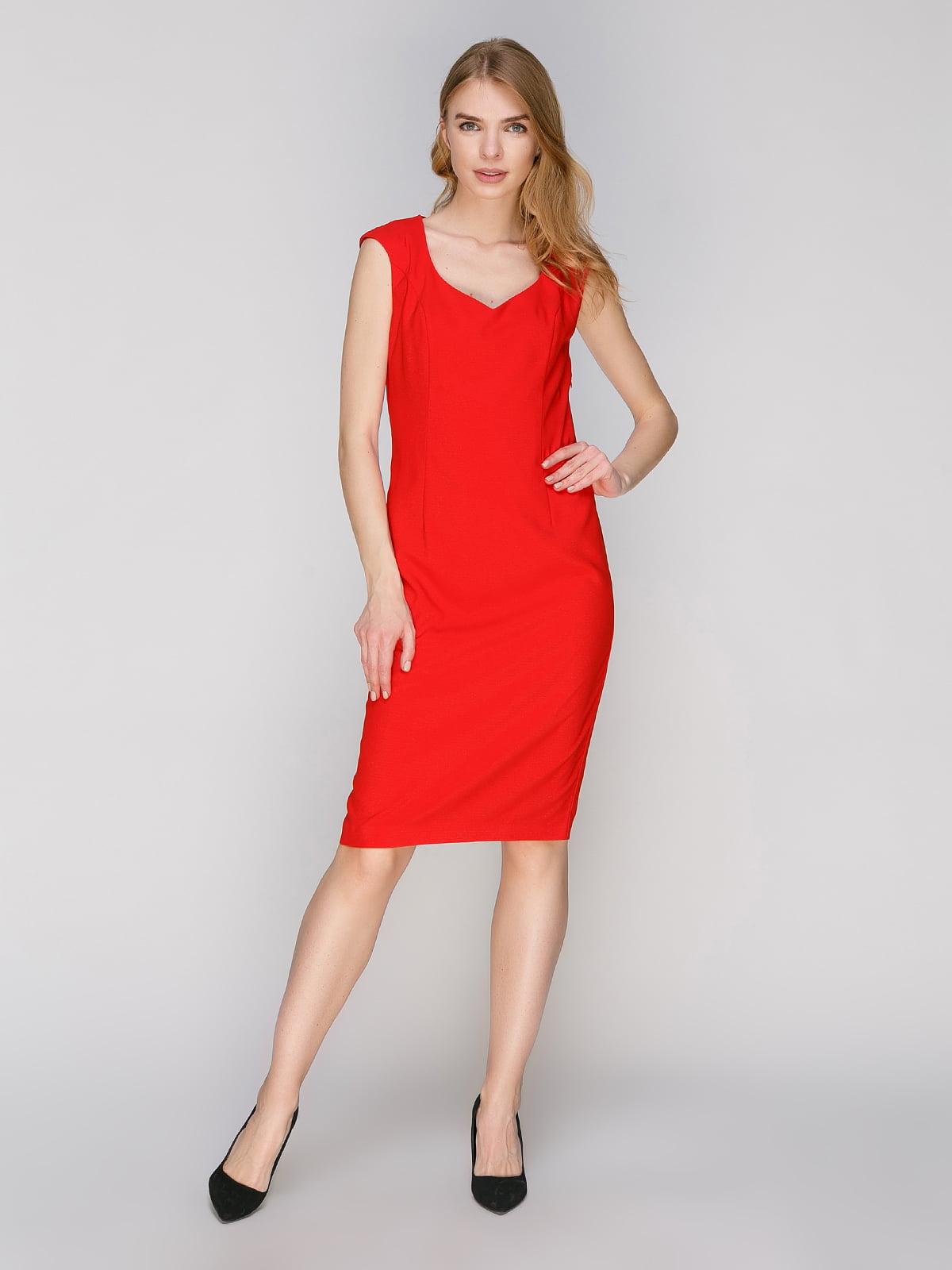 Платье красное | 2871413