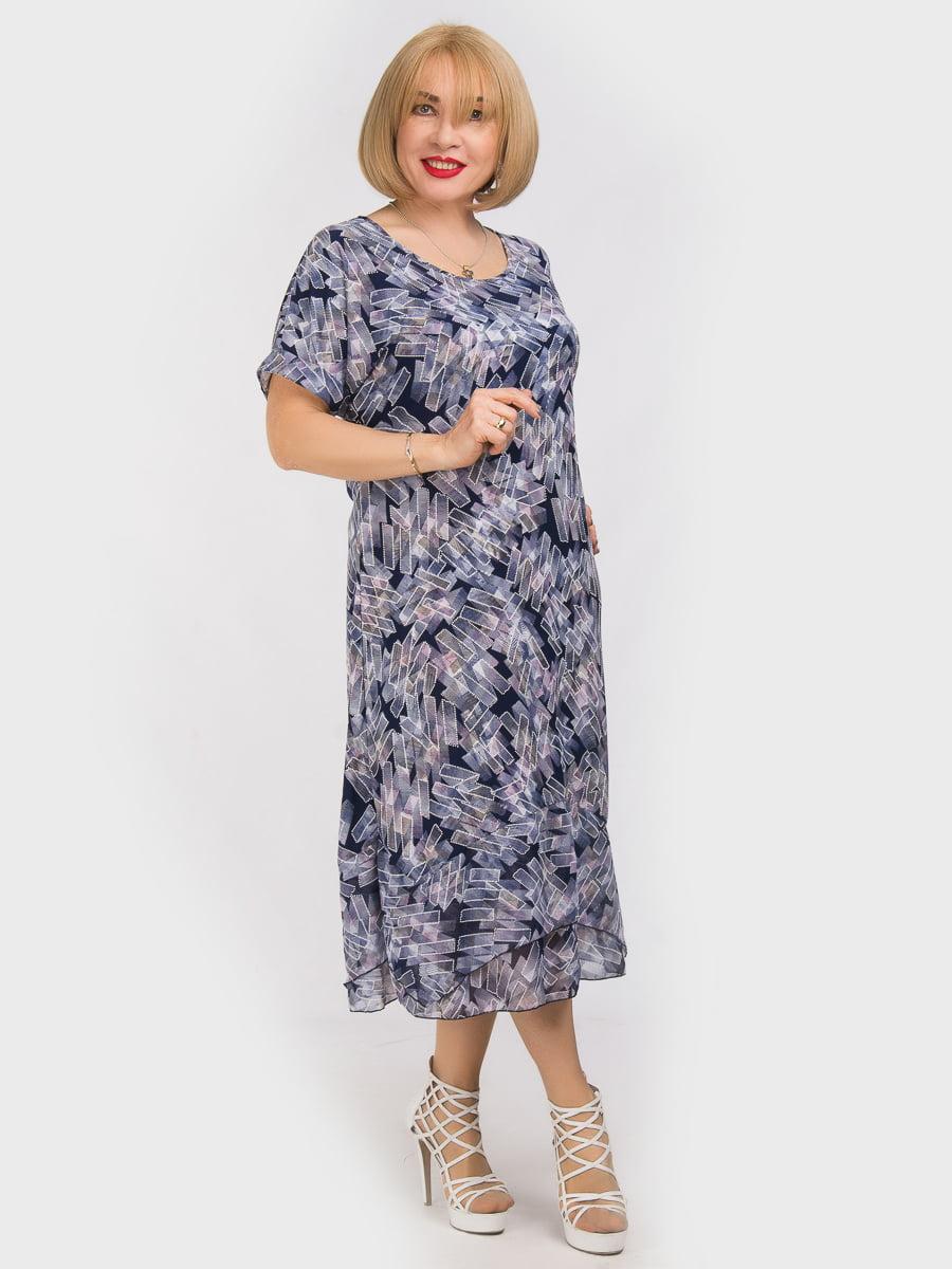 Платье в принт | 5062216