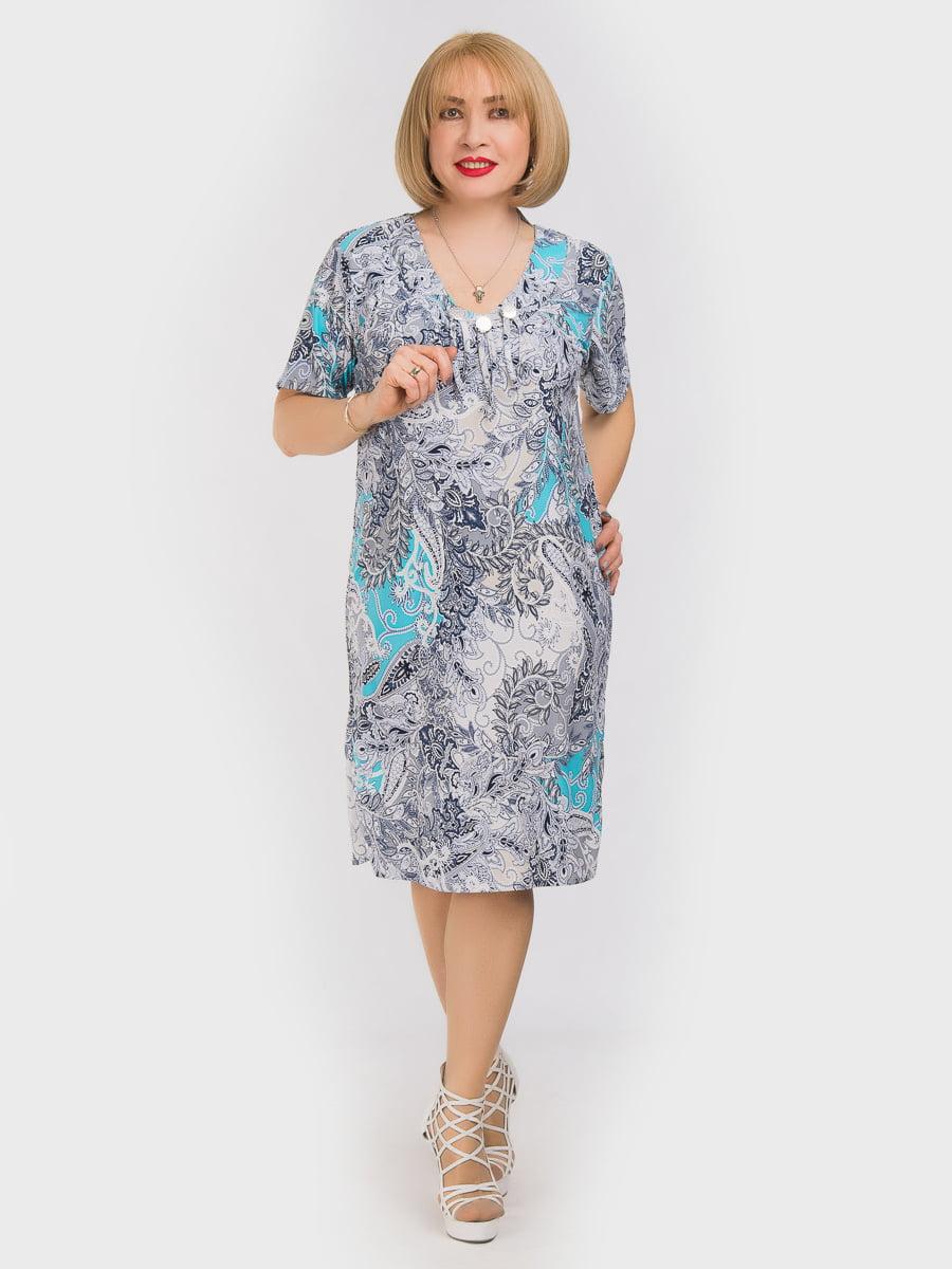 Платье в принт | 5062226