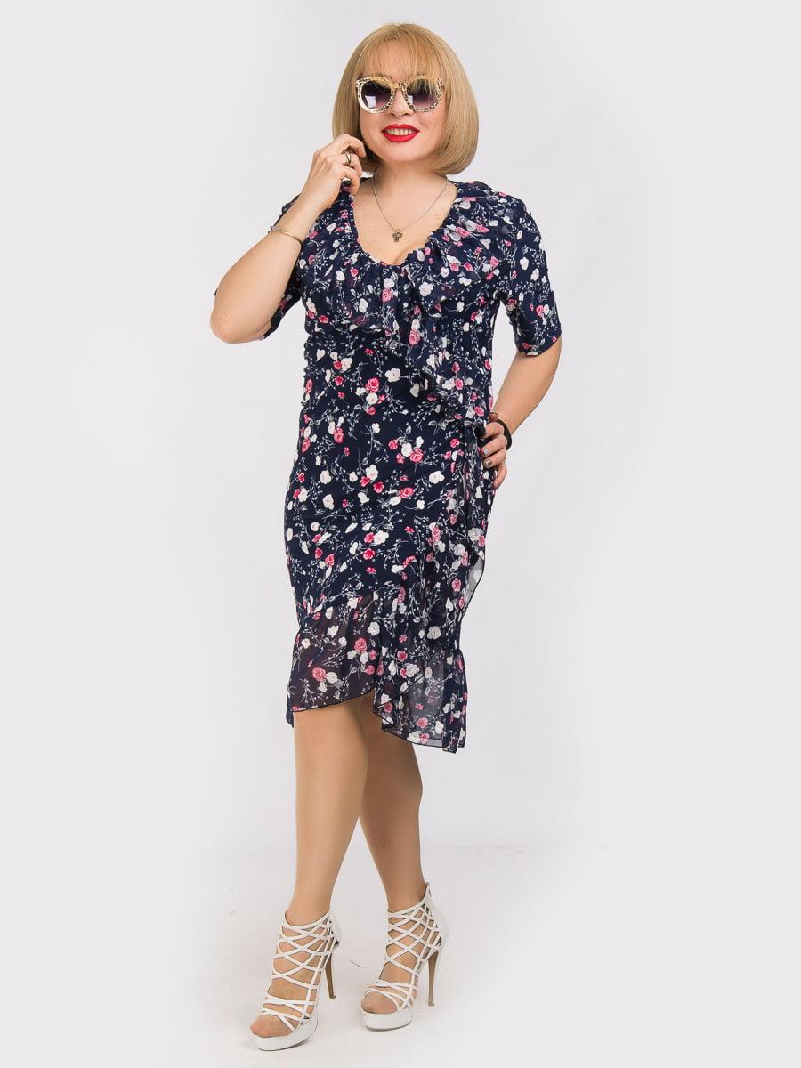 Платье в цветочный принт   5062227