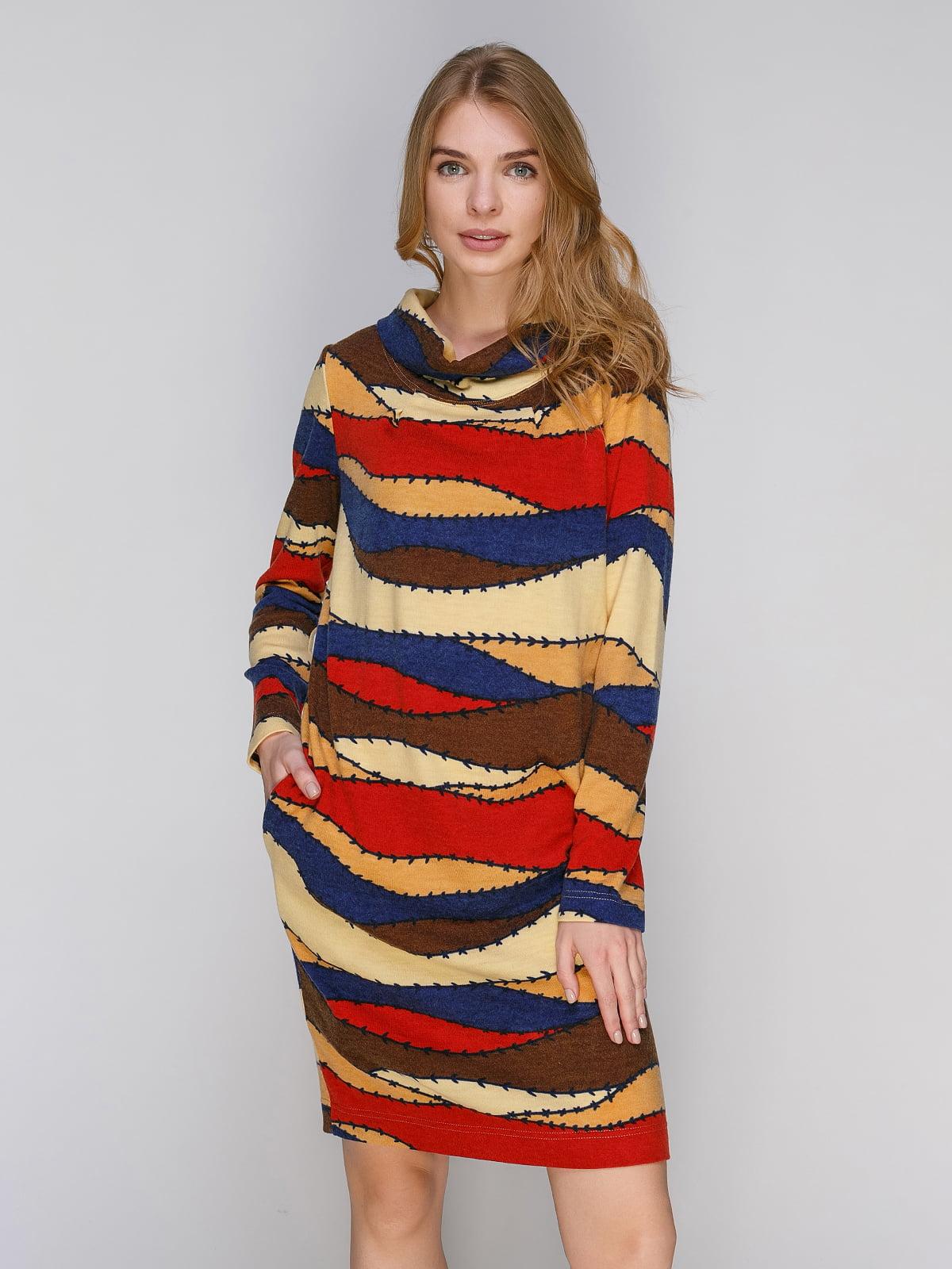 Сукня різнобарвна | 2880792