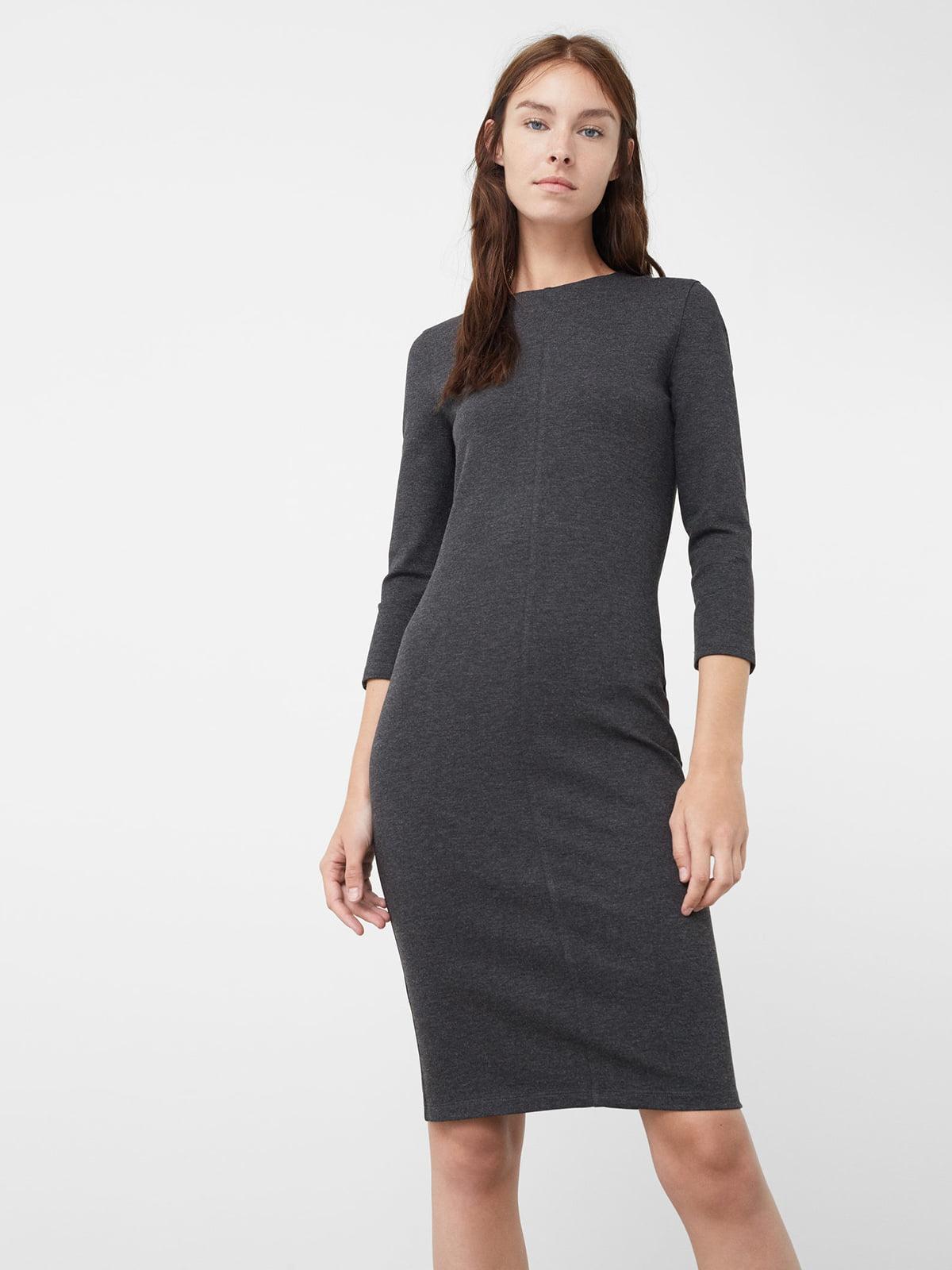 Платье серое   5064943