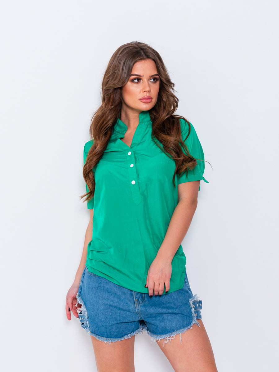 Рубашка зеленая   5044784