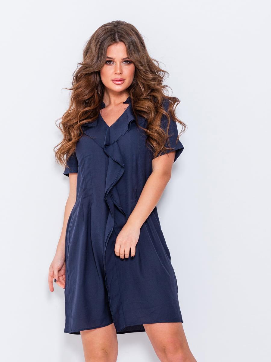 Платье темно-синее   5055217