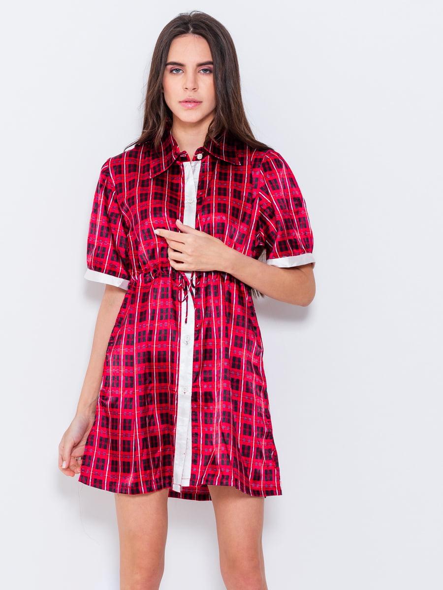 Платье в клетку   5055221