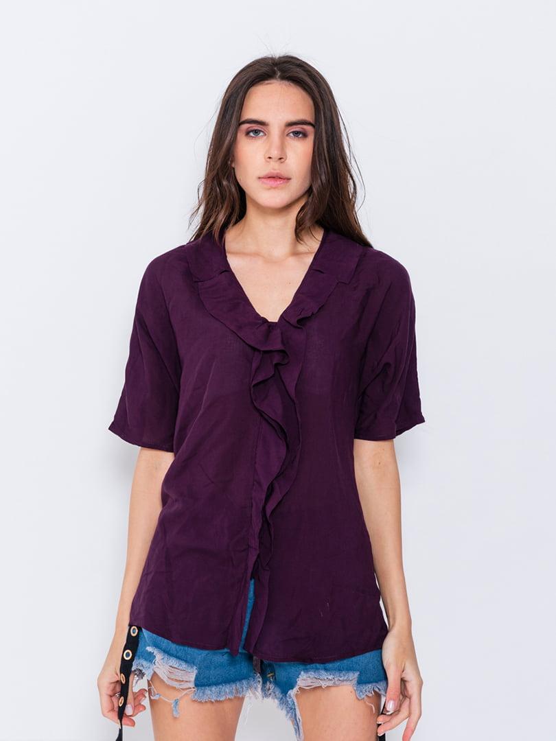 Блуза фиолетовая | 5055227