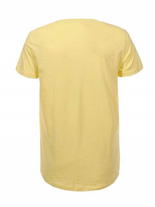 Футболка жовта | 5061898 | фото 2