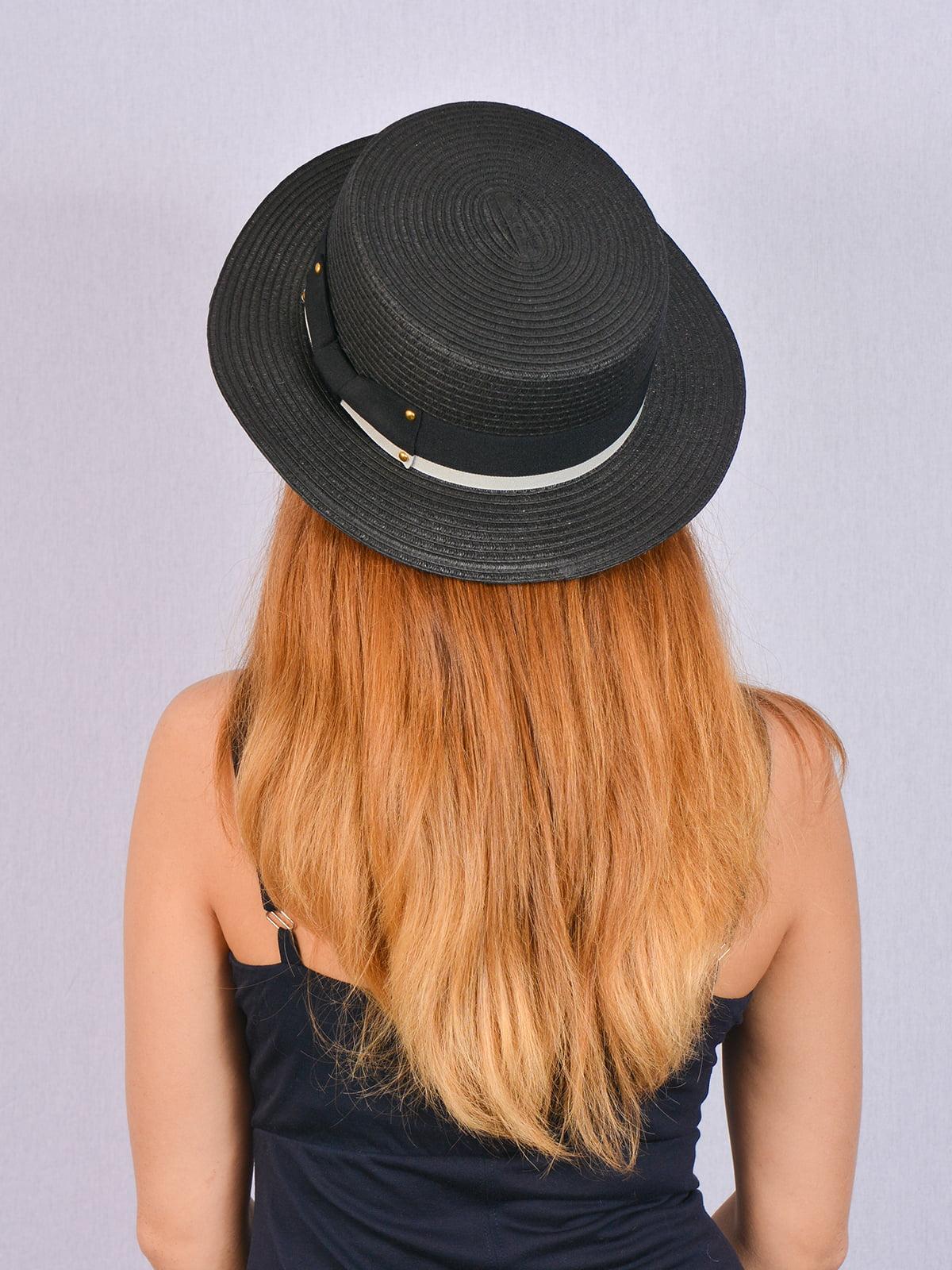 Шляпа черная   5070846   фото 2