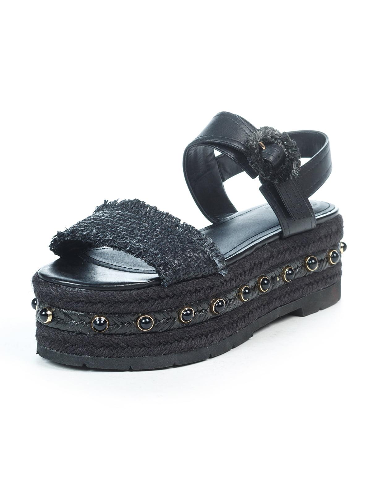 Босоніжки чорні | 5057103