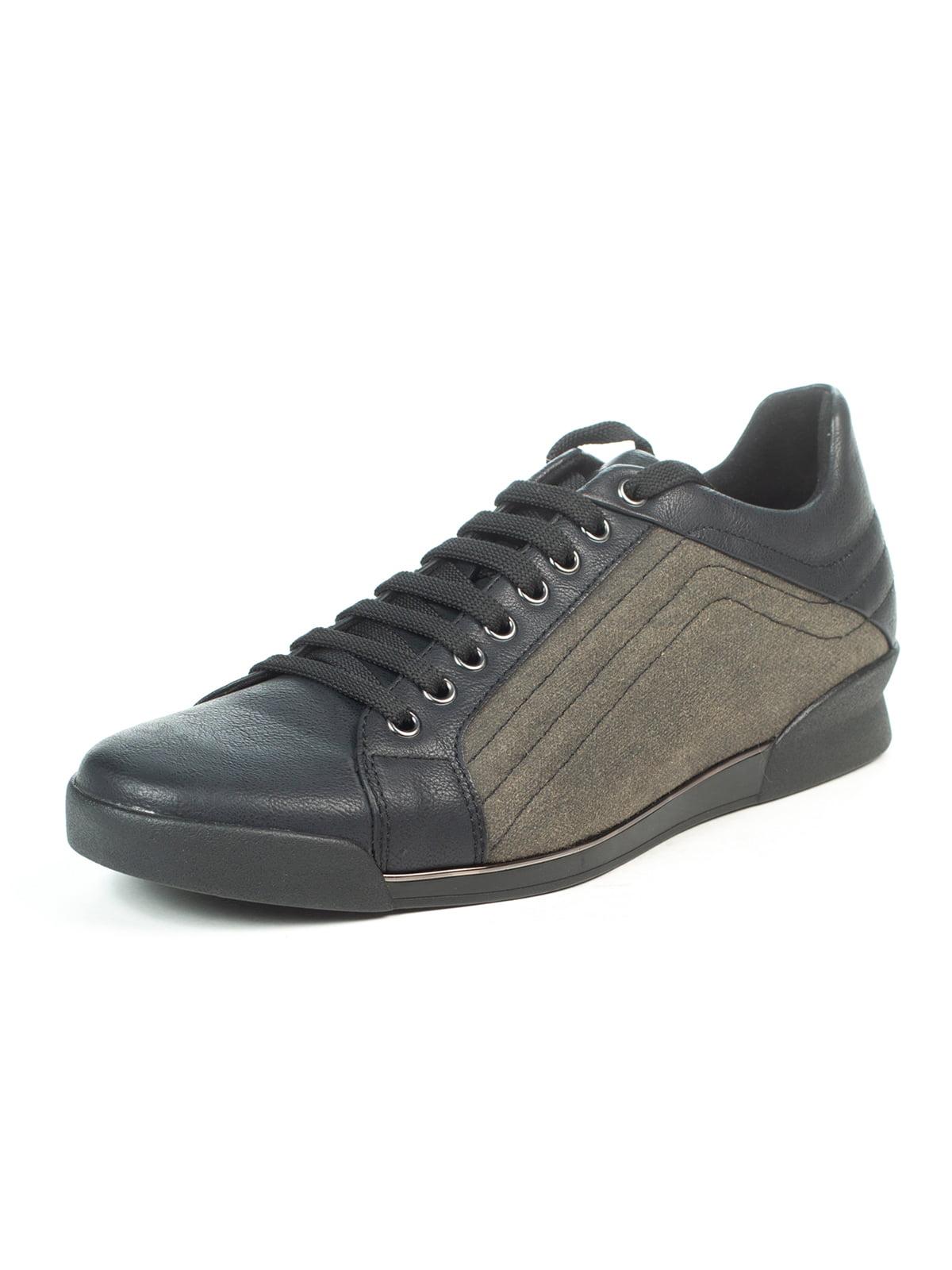 Кросівки чорно-зелені   5057040