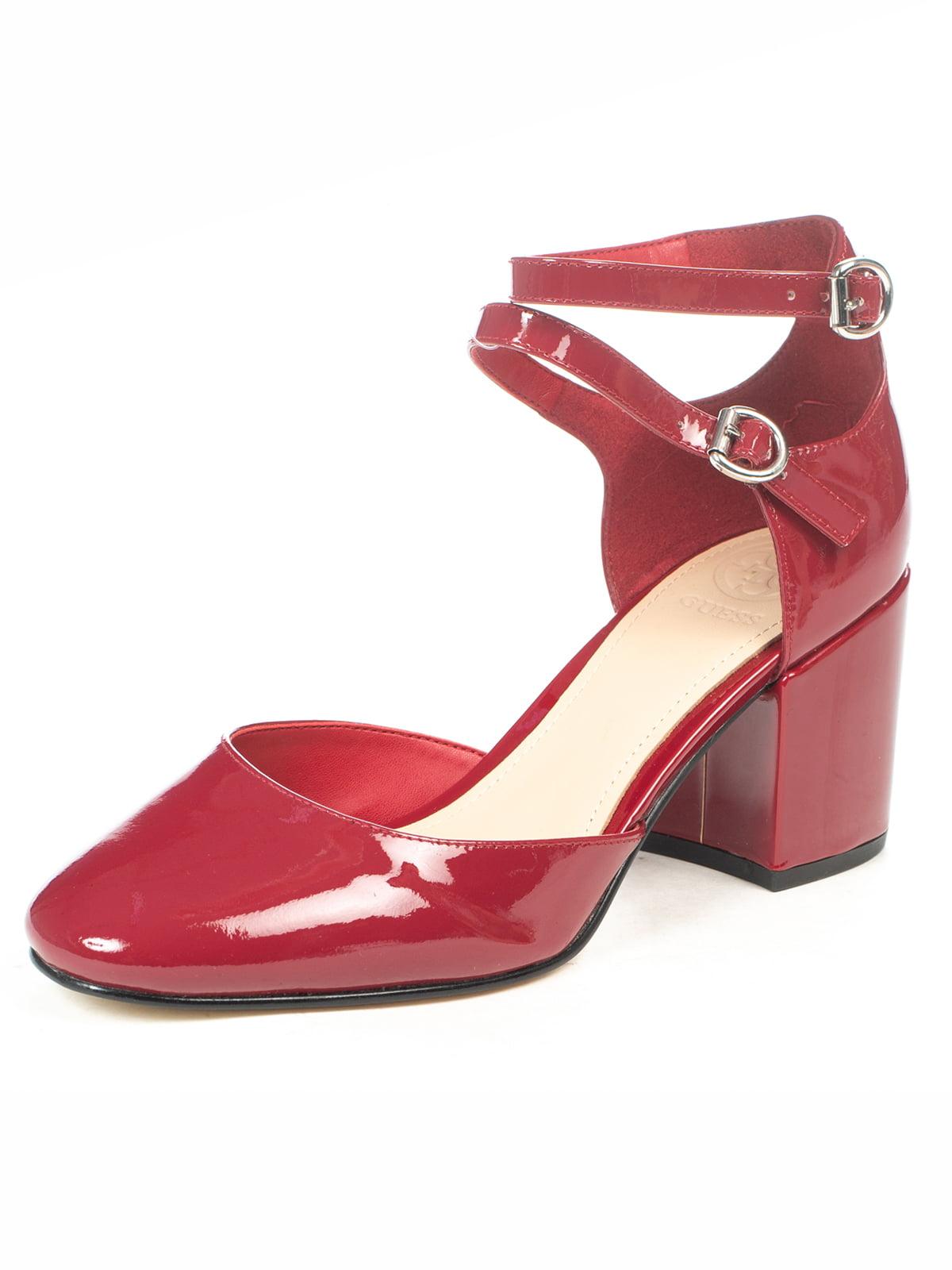 Туфлі бордові | 5057104
