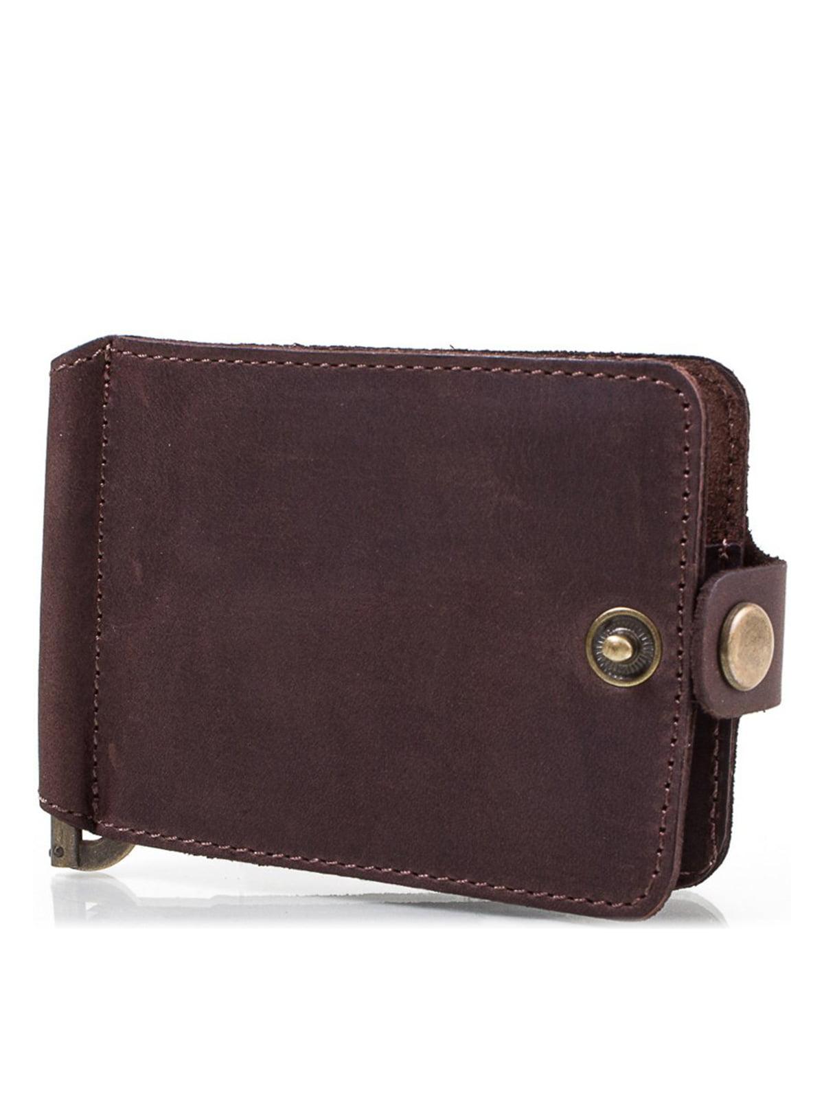 Затискач для купюр коричневий | 4178302