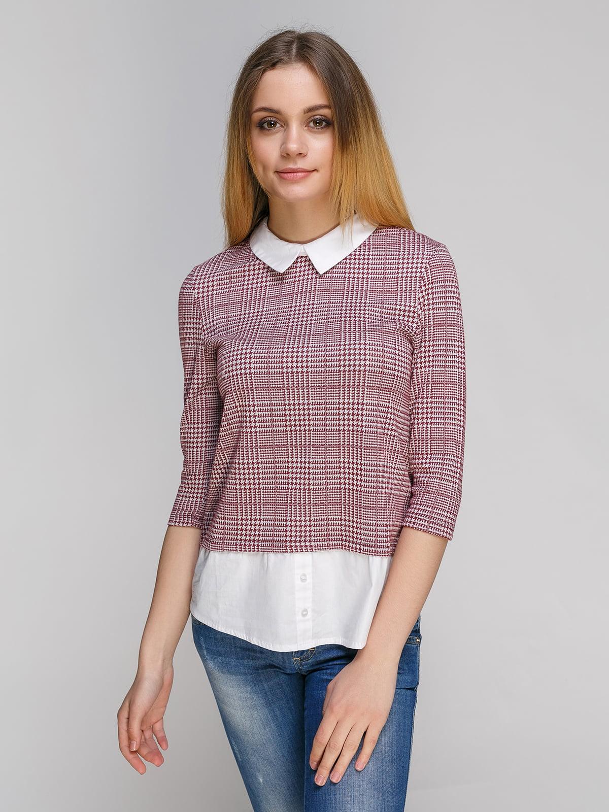 Блуза в клітинку | 4472406