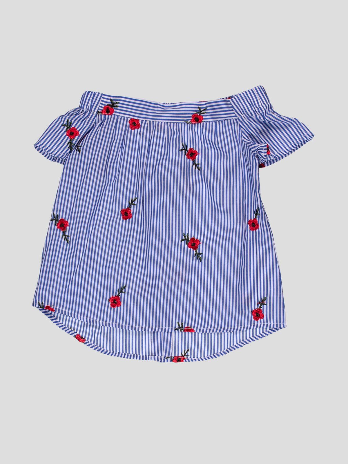 Блуза в смужку | 5057549