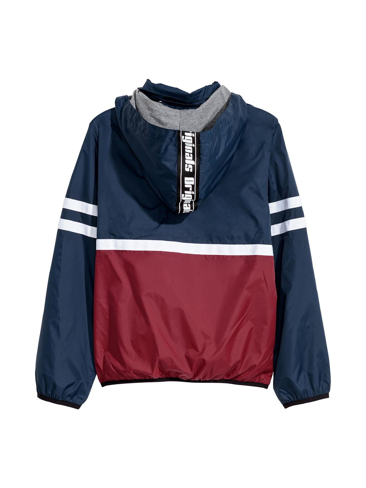 Куртка сине-красная | 5047503 | фото 5