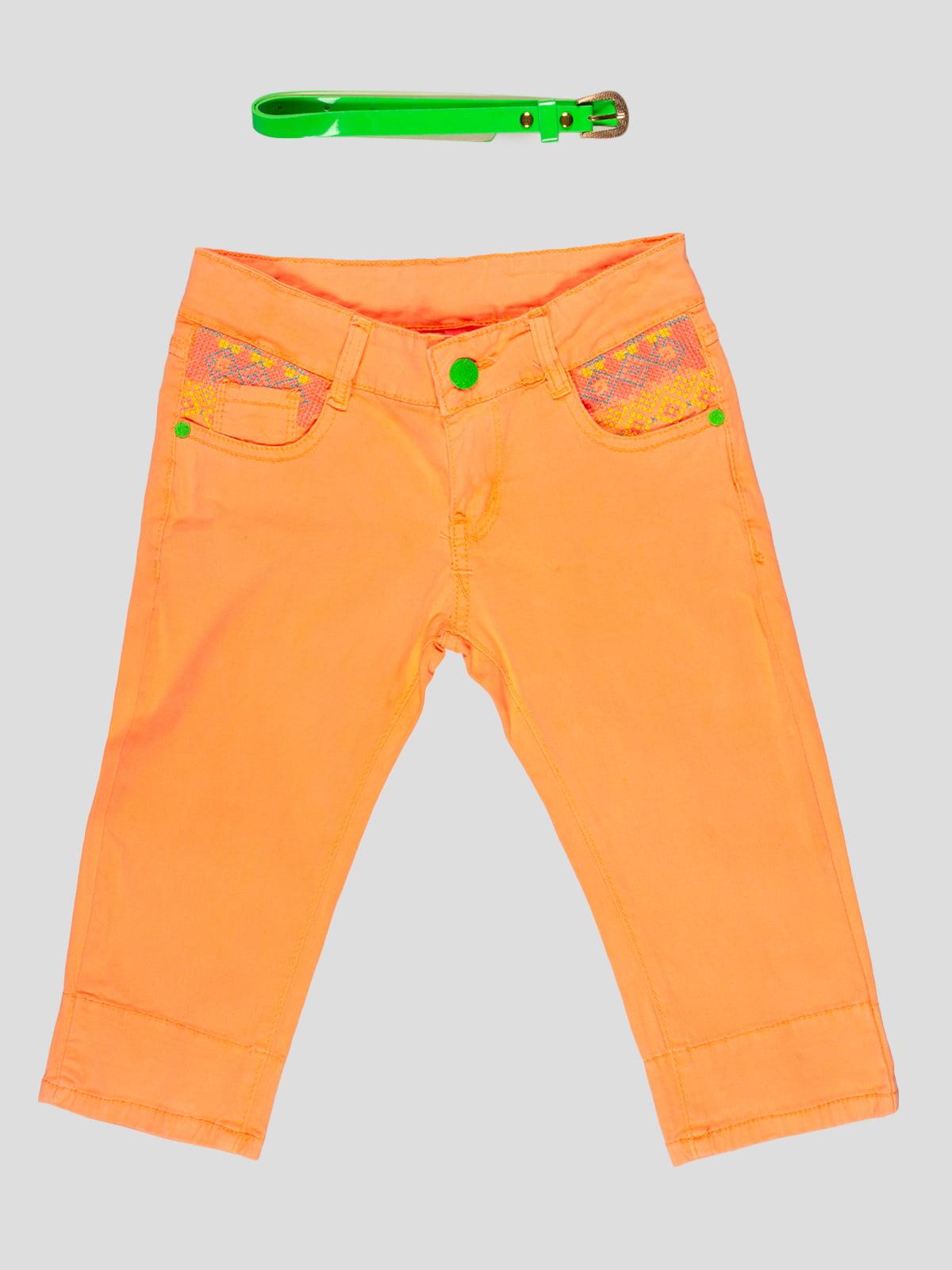 Бриджи персикового цвета | 5057545