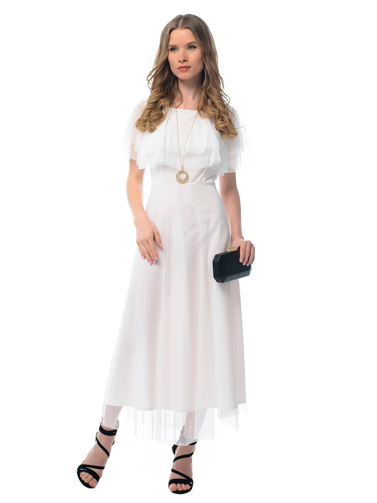 Платье молочного цвета | 5073698