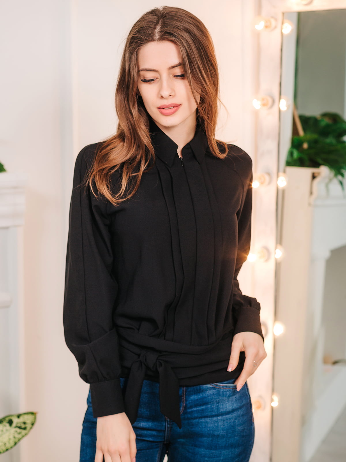 Блуза черная | 5074256