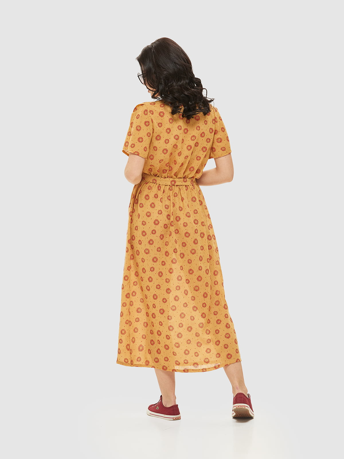 Сукня жовта в принт | 5075492 | фото 2