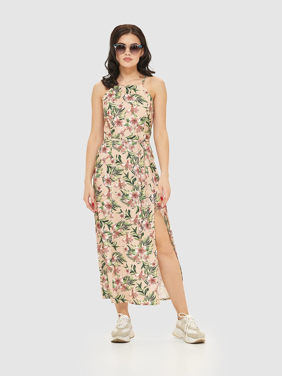Сукня в квітковий принт | 5075496