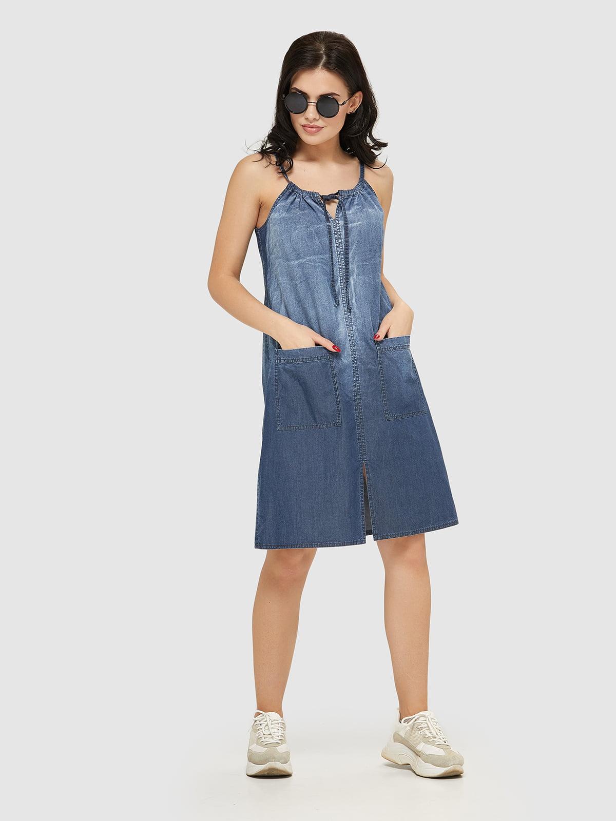 Сукня синя   5075499