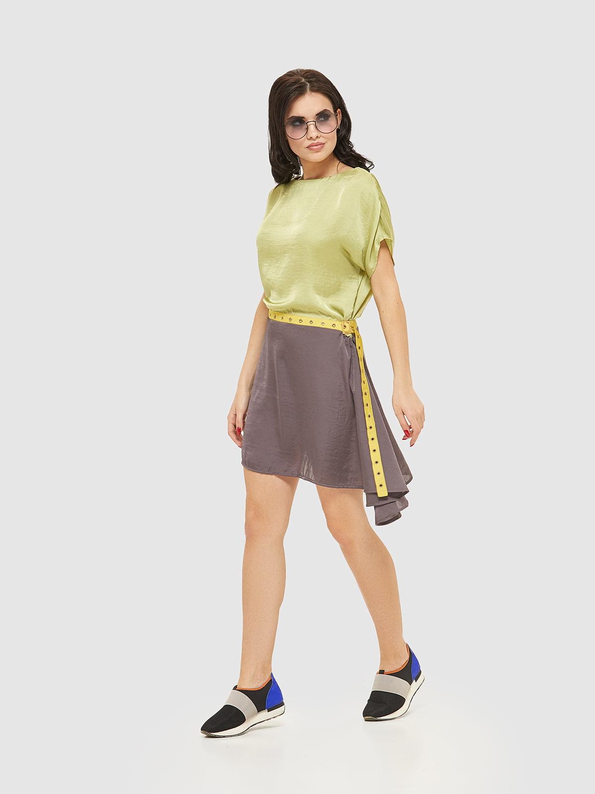 Платье двухцветное | 4202670 | фото 4