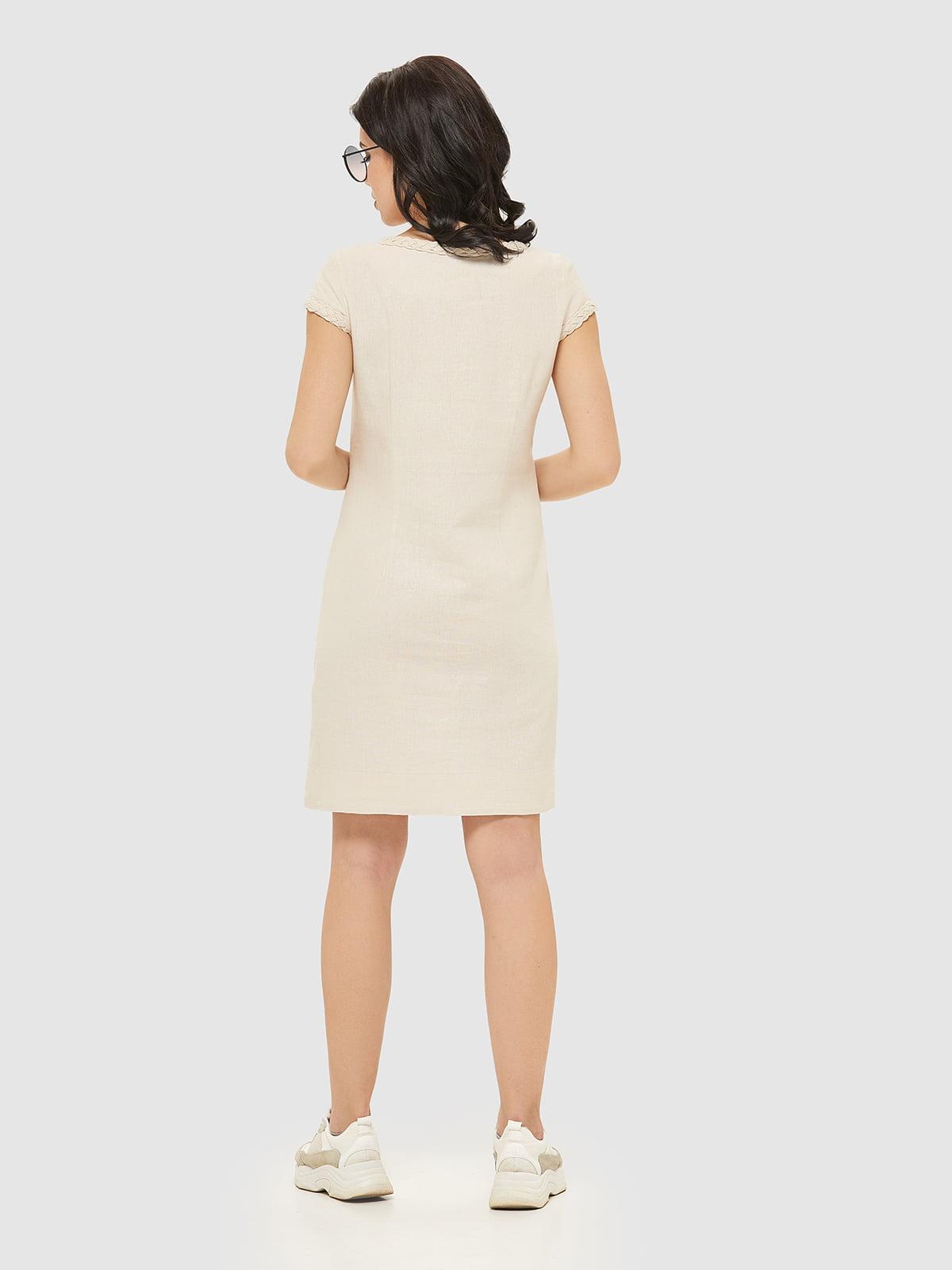 Сукня бежева   5075473   фото 2