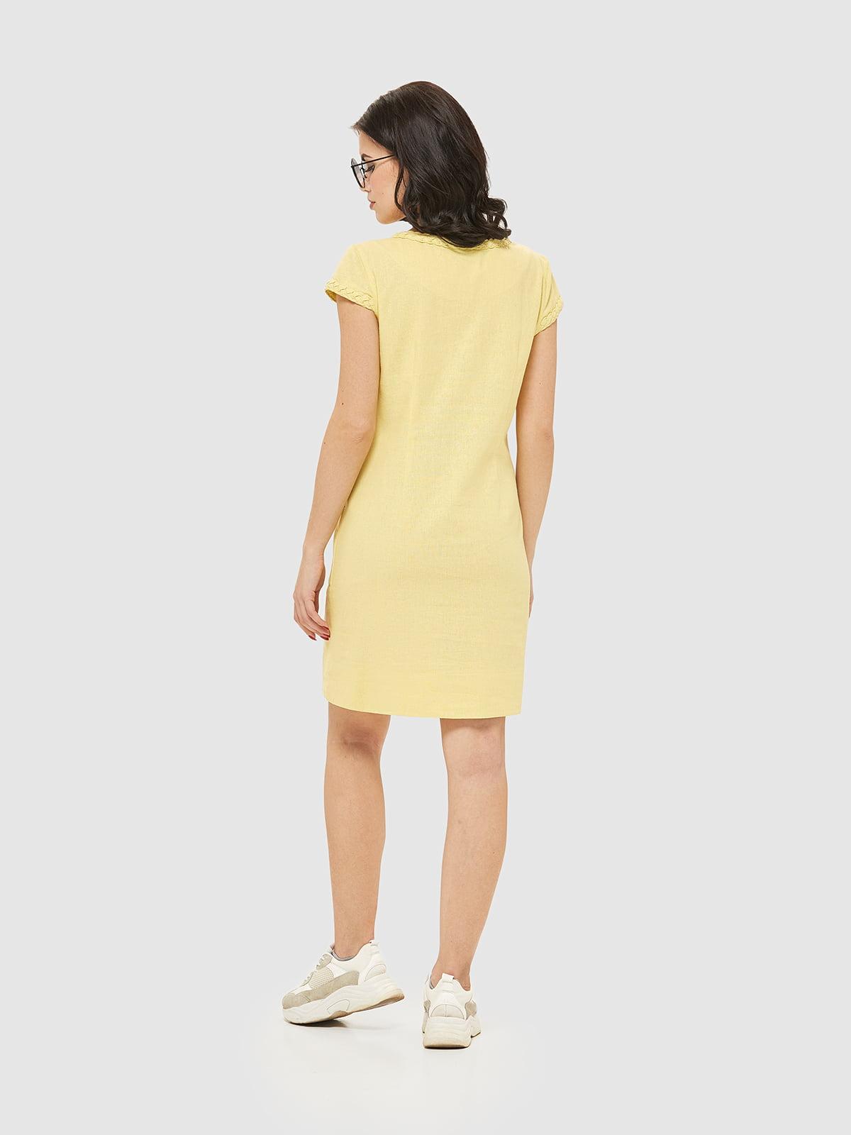Сукня жовта   5075475   фото 2