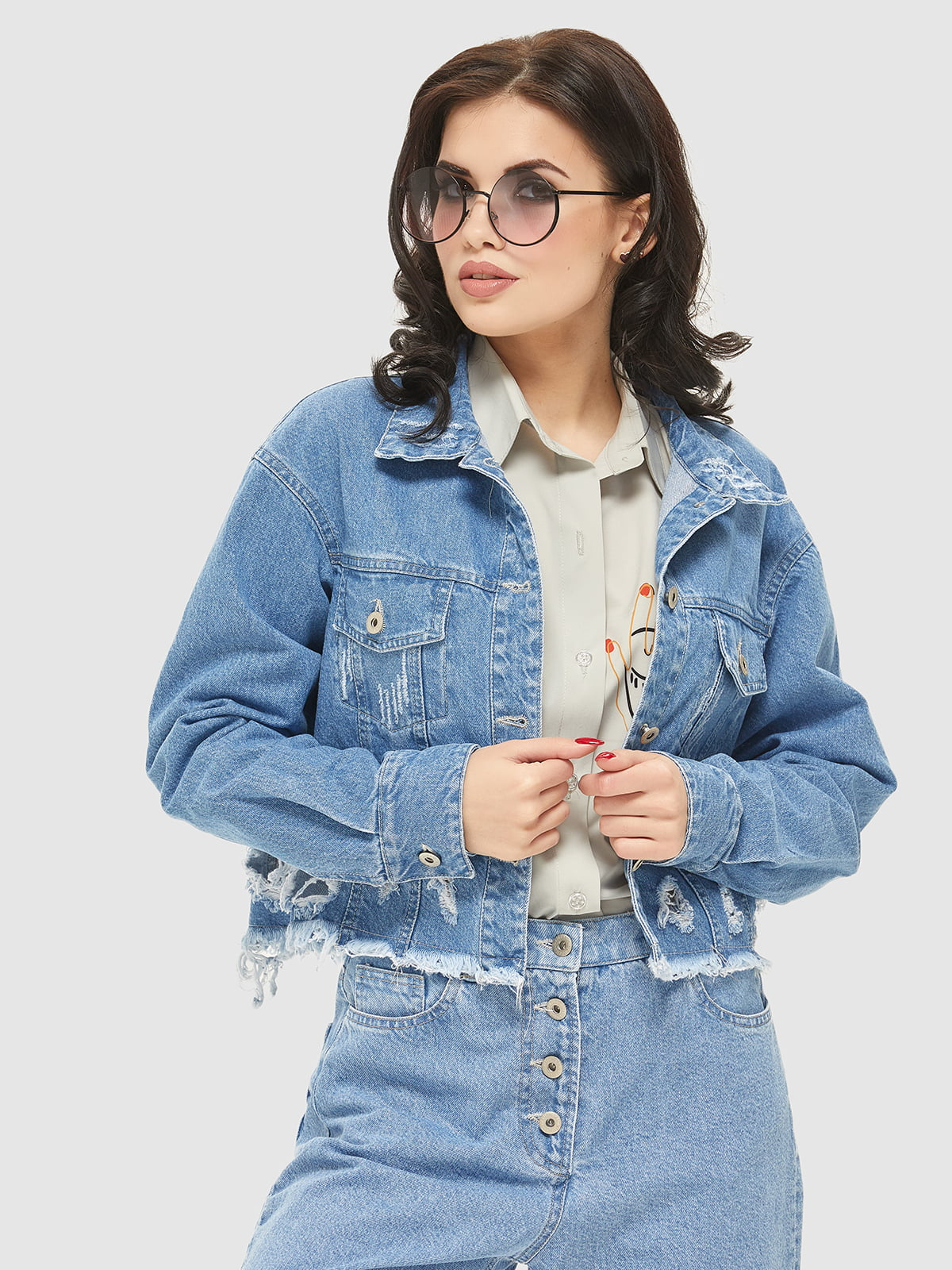 Куртка синя | 5075485