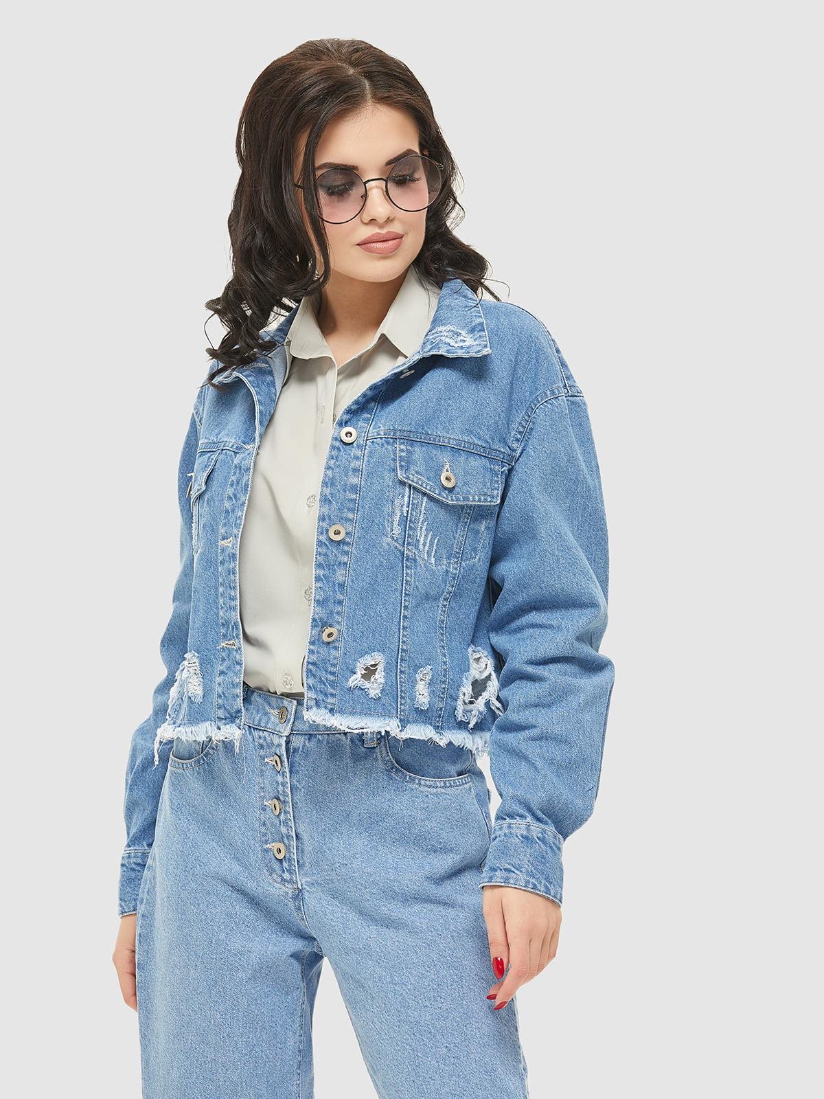 Куртка синя | 5075485 | фото 2