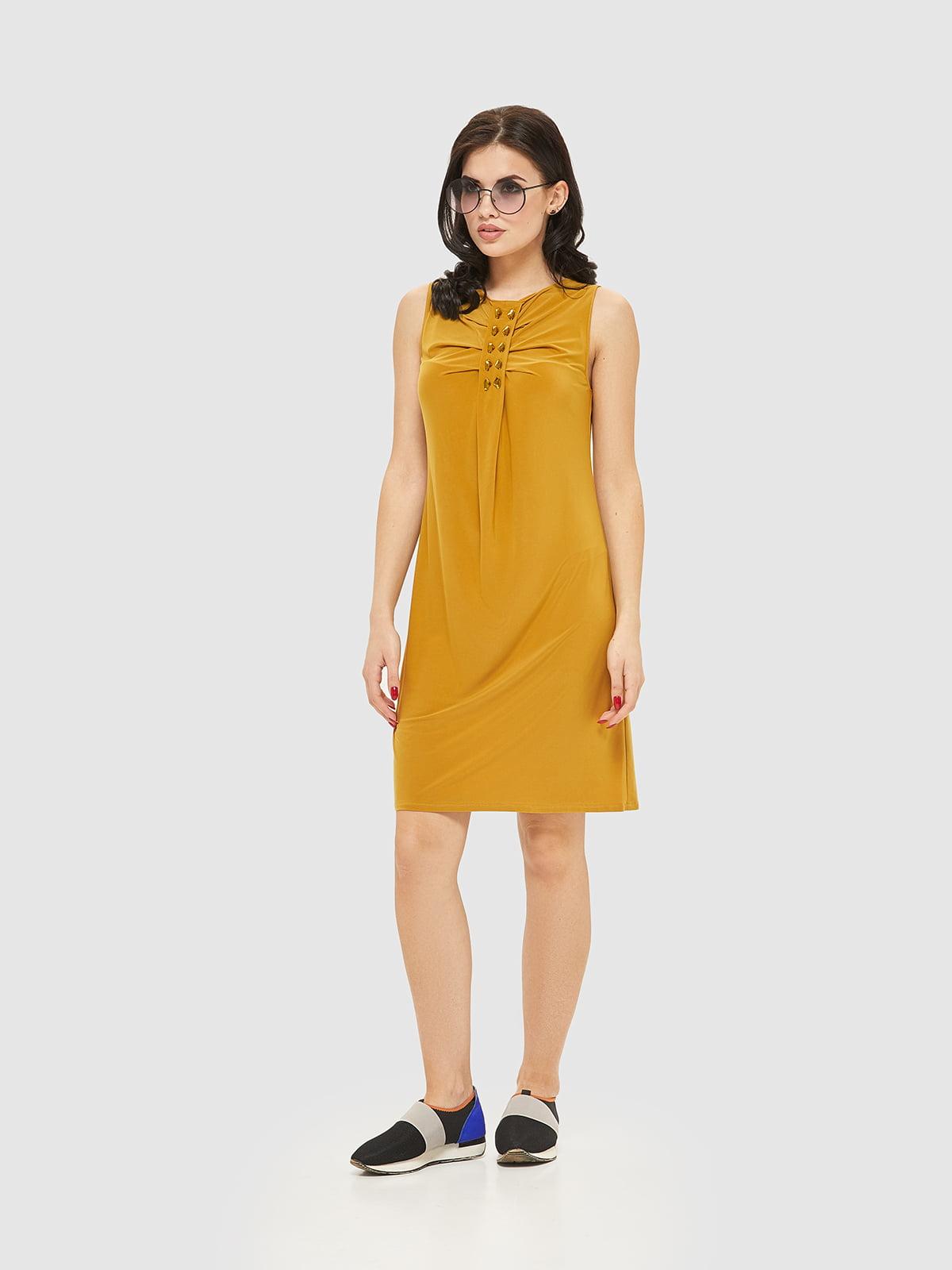 Сукня гірчичного кольору   2386042   фото 7