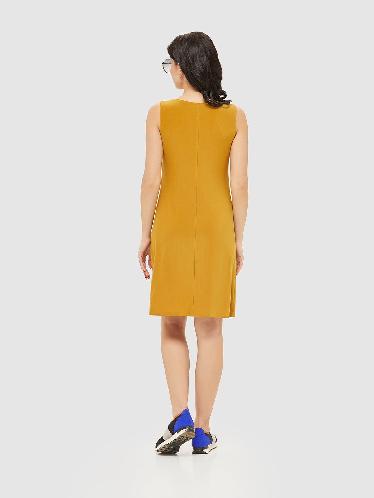 Сукня гірчичного кольору   2386042   фото 8