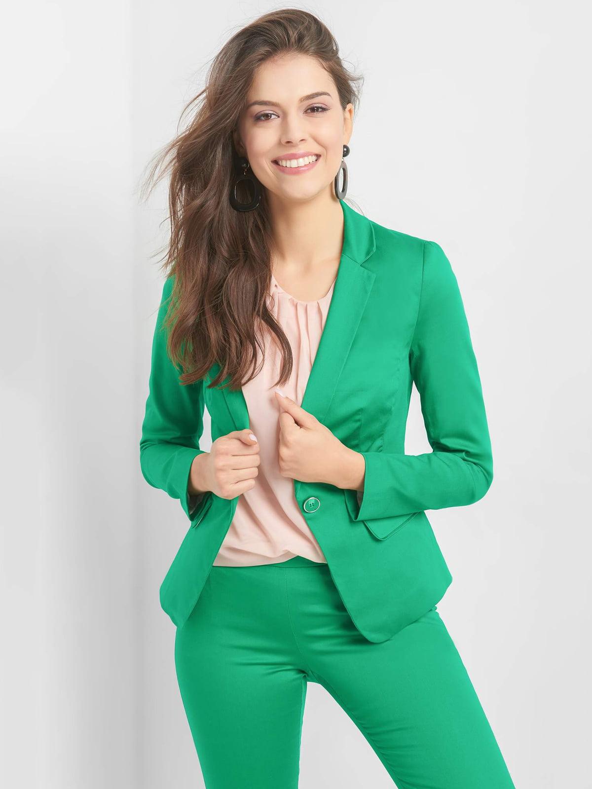 Жакет зелений   5075946