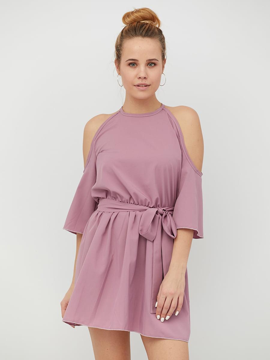 Платье светло-сливового цвета | 5076397
