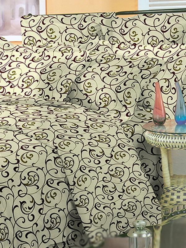 Комплект постільної білизни двоспальний (євро) | 3374579 | фото 7