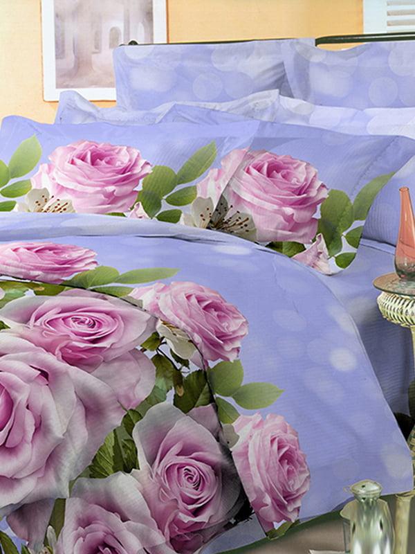 Комплект постільної білизни двоспальний (євро) | 4561062 | фото 5