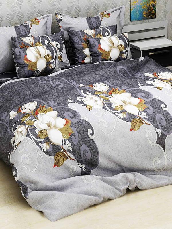 Комплект постільної білизни двоспальний (євро) | 4893350 | фото 5