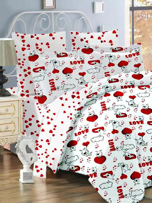 Комплект постельного белья двуспальный (евро)   4971531   фото 5