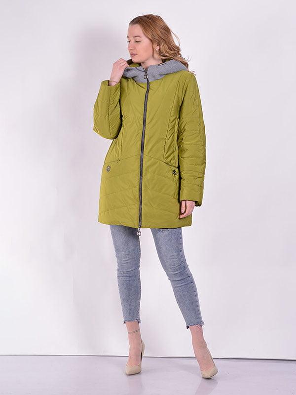 Куртка зелена | 5039004
