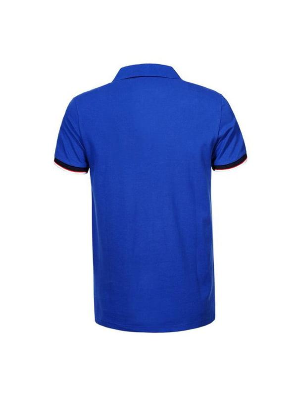 Футболка-поло синя   5075357   фото 2