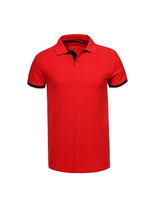 Футболка-поло червона   5075358