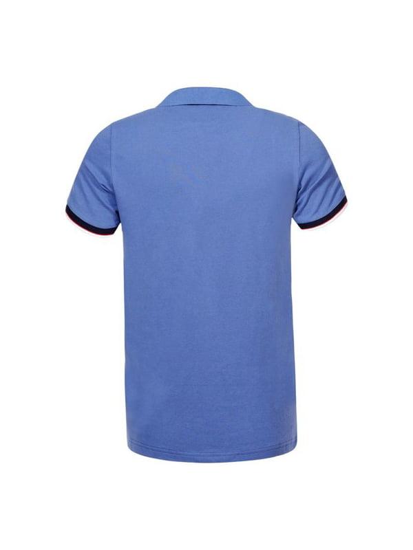 Футболка-поло блакитна | 5075363 | фото 2